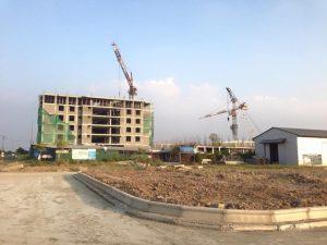Dự án đang hoàn thành cơ sở hạ tầng