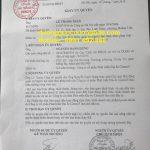 Giấy ủy quyền ký dự án Thanh Hà Cienco 5