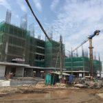 Chung Cư HH01, HH02 Thanh Hà đang được xây dựng
