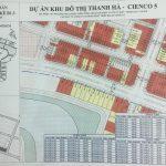 Bản đồ Khu Đô Thị Thanh hà