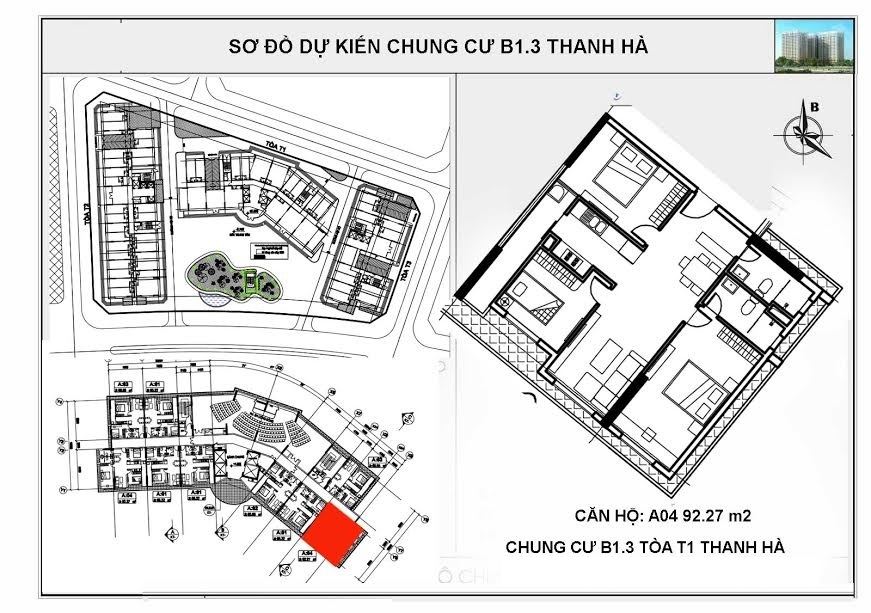 so do chung cu b13 thanh ha toa T1 can so A04 1