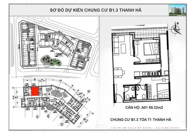 so do chung cu b13 thanh ha toa T2 can so A01 1